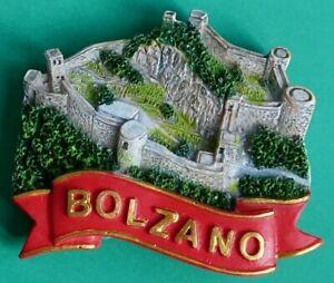 Souvenir Fridge Magnet Bolzano Sigmundskron Castle South Tyrol Italy