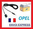 Cable aux auxiliaire adaptateur mp3 Opel Zafira de 7/2005 CD30/CD30 MP3