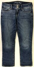 American Eagle Womens Jeans Blue Artist Stretch Size 4 Regular Measures 30x25