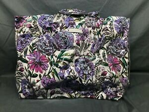 Vera Bradley City Shopper Tote Lavender Meadow NEW WITH TAGS!
