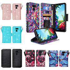 LG Stylo 6 / Stylo 6 Plus Cute Wallet Phone Case w/ Kickstand for Girls Women
