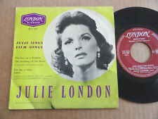 "DISQUE 45T DE JULIE LONDON  "" SINGS FILM SONGS """