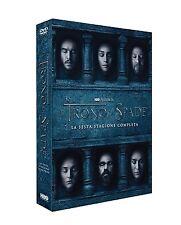 IL TRONO DI SPADE - STAGIONE 6 (5 DVD) - COFANETTO NUOVO, ITALIANO