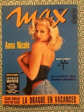 MAX French Juil 1994 Anna Nicole Smith Prince Javier Mariscal Barcelona