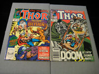 Thor #408 and #409 (Marvel, 1989)