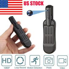 New 1080P HD Pocket Pen Camera Hidden Spy Mini Portable Body Video Recorder DVR