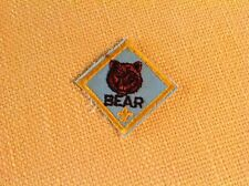Bear Cub Rank Insignia Patch Bsa Boy Scouts of America Uniform Logo Shirt Badge