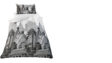 New York Skyline Duvet Cover Set - Single