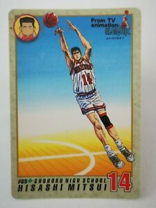 Slam Dunk Bandai 1994 carddass From TV Animation made in japon #65 Mitsui