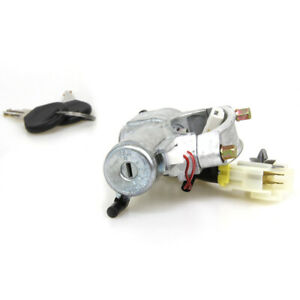 M/T Ignition Switch Cylinder Steering Lock Fit 1994-98 Nissan 2nd GEN 240SX S14