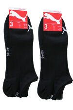 6 Paar Herren Puma Sneaker Socken schwarz 43/46