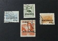 nystamps Austria Stamp # B118-B121 Used $33