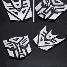 3D Logo Autobot Decepticons Transformers Emblem Badge Graphics Decal Car Sticker