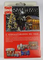BNIB OO / HO BUSCH 1060 GERMAN CHRISTMAS MARKET