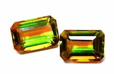 7 Color Change Diaspore Gemstone 8 To 10 Cts Each Lab Created Pair