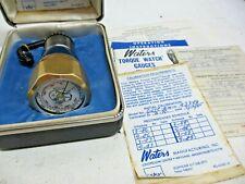 1980s Waters Mfg 651c 2m Torque Watch Gauge With Vhs Adaptor Amp Box
