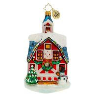 NEW Christopher Radko COUNTRY CHRISTMAS Christmas Ornament 1020054