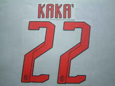 KAKA' NOME+NUMERO UFFICIALE MILAN AWAY 2007-2008 OFFICIAL NAMESET