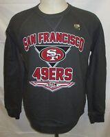 San Francisco 49ers NFL Men's Crew Neck Sweatshirt Style V Gray