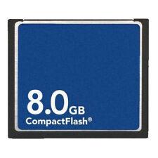 8GB CF 8GB CompactFlash CF Memory Card Genuine With Case