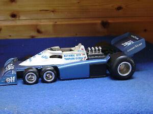 Polistil   F1  Tyrrell P34/2   cod . GG 3   scala 1:16  defekt