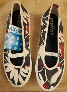 Ladies Roxy Radcliff Quiksilver Shoes Mary Jane Style Flats Size 5 New With Tags