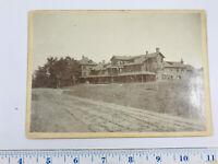 1900's Hillhurst Hotel Norfolk Connecticut area CT cabinet card photo RARE!