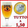BICCHIERI COLLEZIONE BIRRA A SCELTA A  euro 1,50
