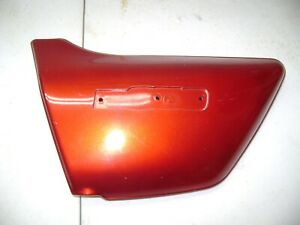 NOS KAWASAKI KZ650 LEFT SIDECOVER SIDE COVER PANEL RED