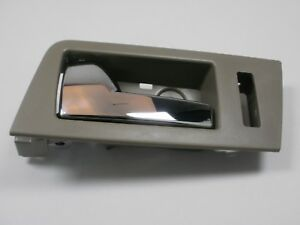 INTERIOR FRONT DRIVER DOOR Chrome HANDLE STONE 2008-2011 ESCAPE MARINER TRIBUTE
