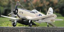 TopRC F4U Corsair Yellow RTF Warbirds RC Airplane model W/ Devo7 Battery