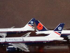 1/400 3-PACK NG Model British Airways Landor B757 757 G-BIKC, G-BIKF, G-BIKU