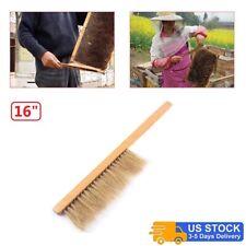 Wooden Handle Brush Beekeeper Tool Beekeeping Equipment Bee Hive Brush Bee Brush