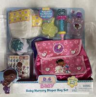 Doc McStuffins Baby Nursery Diaper Bag Set.