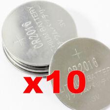 pile CR2016 2016 10 CR Lotto 3V Litio Lithium bottoni lithio batterie pila xe