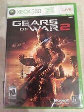 Gears of War 2 (Microsoft Xbox 360, 2008) USED SEALED