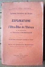 EXPLORATIONS dans l'Ultra-Éther de l'UNIVERS - STÉFAN CHRISTESCO - 1922