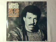 "LIONEL RICHIE Say you, say me 12"" ITALY SOUNDTRACK WHITE NIGHTS COMMODORES"