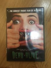 DEAD ALIVE DVD Peter Jackson Super Rare Deleted Timothy Balme Brain dead Horror
