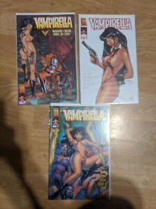 Vampirella: Holy War 1-3 (Complete Set)