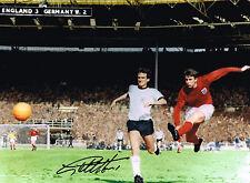 SALE PROOF GEOFF HURST SIGNED 1966 ENGLAND WORLD CUP PHOTO AUTOGRAPH WEST HAM 2