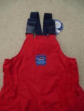 BNWT JOJO MAMAN BEBE Waterproof Fleece Lined DUNGAREES 18-24m RED Trousers