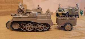 Kleines Kettenkraftrad Typ HK 101 (Bausatz) 1:16, RC-Tank, RC-Fahrzeug