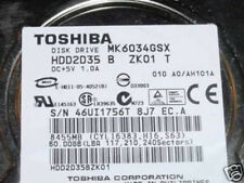 MK6034GSX (HDD2D35 B ZK01 T) 010 A0/AH101A  60gb Sata Laptop HDD