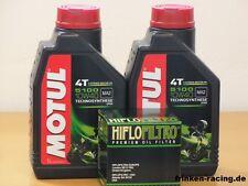 Motul Öl 5100 10W40 teilsyn / Ölfilter HM Moto 125 Trail Locusta Bj 11 - 15