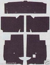 55-56-57 CHEVY & PONTIAC  CARPET UNDERLAY (INSULATION & SOUND DEADENER KIT