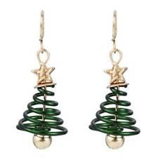 Women's Star Christmas Tree Earrings Dangle Hook Ear Drop Fashion Xmas Jewelry