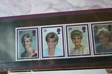 Royal Mint Collectors Stamps Diana Princess of Wales 1961 - 1997