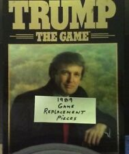 Trump The Game 1989  US President Game Replacement Pieces Parts Lots Free Ship