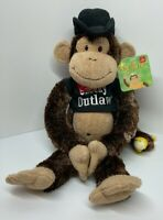"""""""Cheeky Charlie"""" Western Outlaw Edition - Classic Hanging Chimp Monkey by Aurora"""